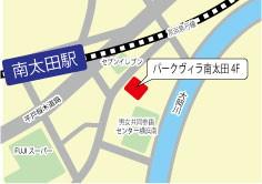 南太田地図