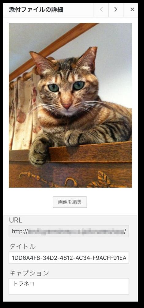 iOSデバイスで画像認識を行った結果
